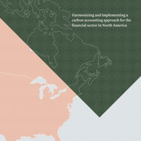 The PCAF North America group launches its first report on carbon accounting methodologies